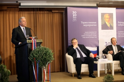 185 years of Hellenic – Russian diplomatic relations